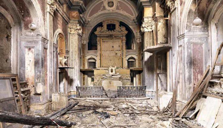Napoli, la chiesa della Scorziata. Un affresco sconosciuto ai napoletani.