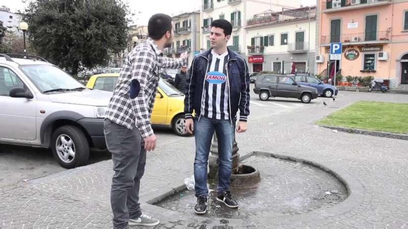 Video: Juventino augura il cancro ai tifosi del Napoli e poi..siete la Camorra.