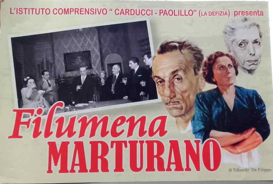Filumena fu chiamata Marturano. Eduardo le cambiò nome al perchè...