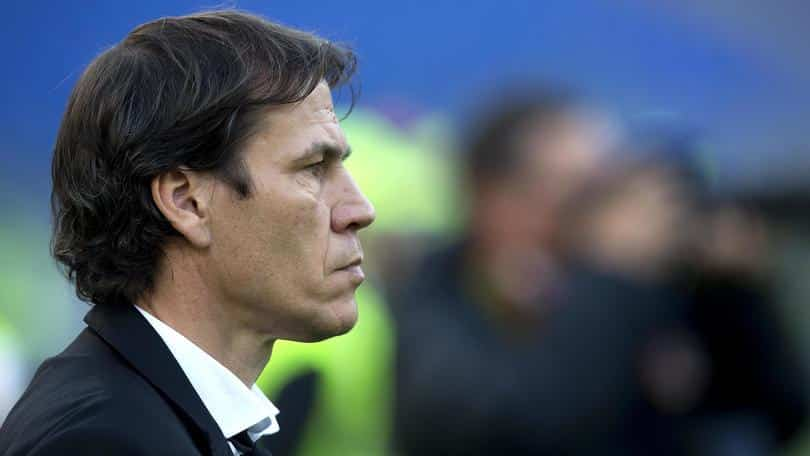 Roma's coach Rudi Garcia during the Serie A soccer match a.s. Roma - Atalanta Bergamasca Calcio at Olimpico Stadium in Rome, 29 November 2015. ANSA/CLAUDIO PERI