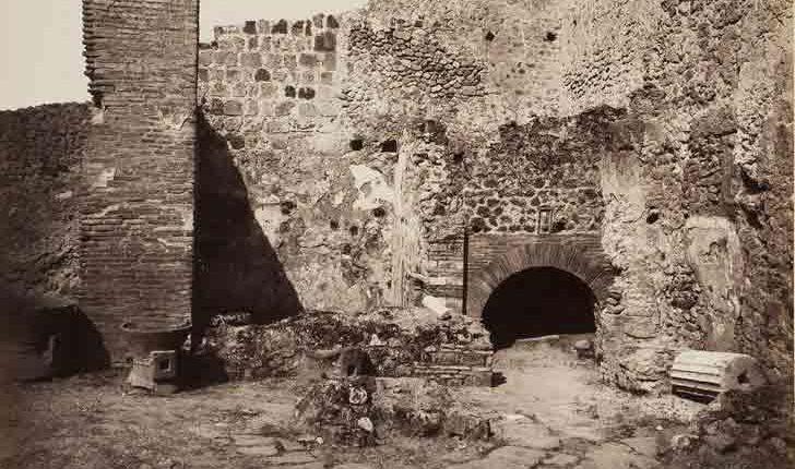 pizza si mangiava a Napoli 2000 anni fa