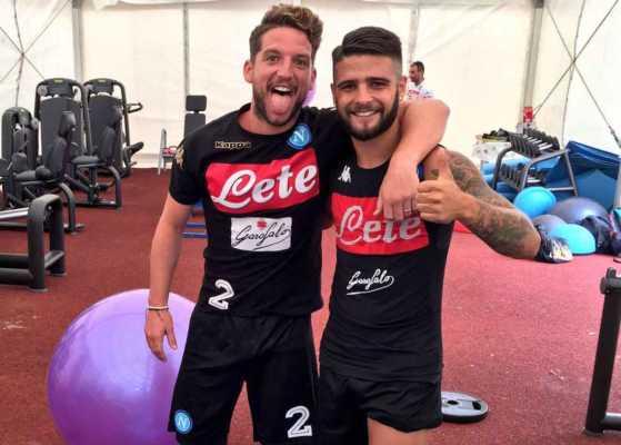 Napoli allenamento tra risate e l'ironia di Sarri.