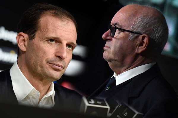 La stampa nazionale contro Adl ma assolve la lite Allegri-Bonucci