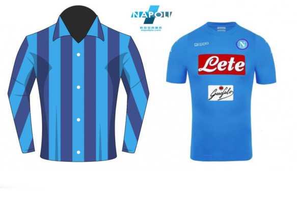 Lo sai perché la maglia del Napoli è azzurra?