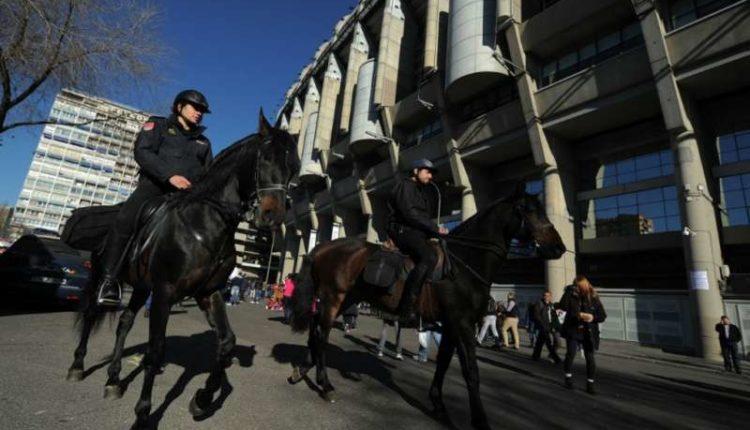 Real Madrid- Napoli ad alto rischio, mobilitati duemila agenti