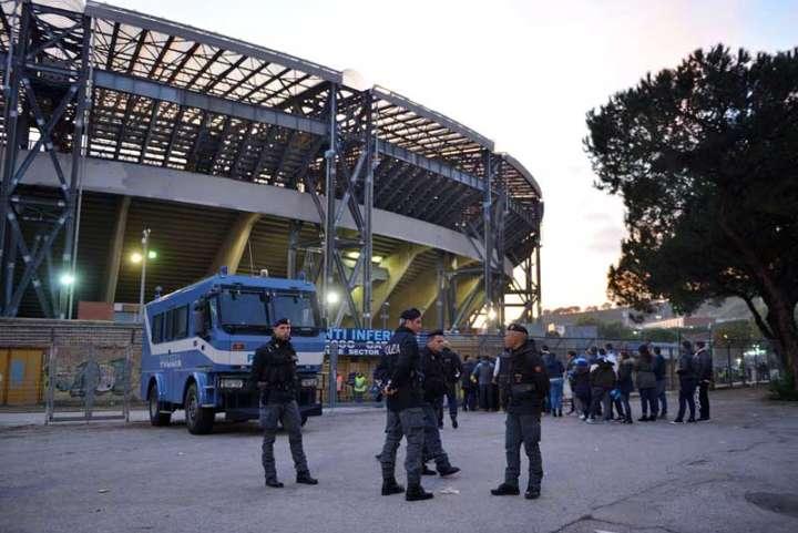 Napoli-Juve due partite con livello di allerta tre