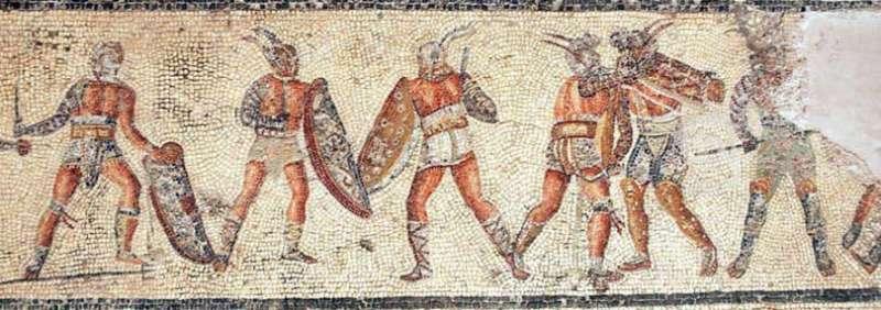 Nerone squalificò l'anfiteatro di Pompei a causa di unaNerone chiuse l'anfiteatro di Pompei per una rissa tra Nocerini e Pompeani. Tutto originato da una futile causa in occasione dei ludi gladiatori.