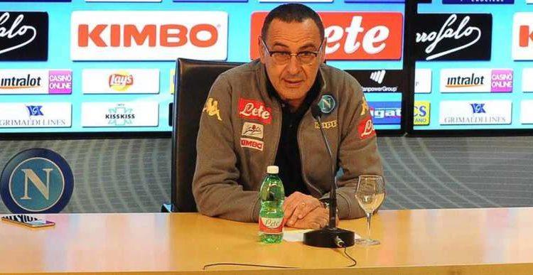 Sarri crede nel secondo posto e si complimenta con i tifosi del Napoli