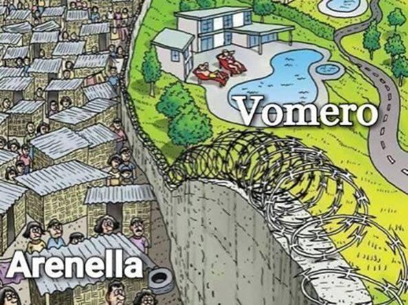 Guerra di quartiere: Ecco come l'Arenella risponde al Vomero