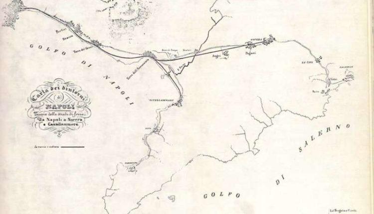 In mostra i bozzetti di Fergola per la ferrovia Napoli- Portici.