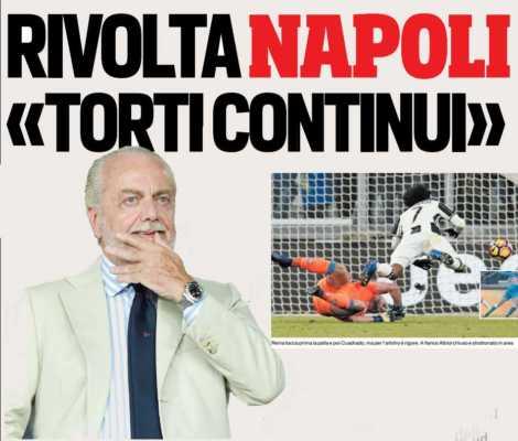 Il Napoli non ci sta, nel mirino Rai e Arbitri. I bambini scrivono alla fifa contro la Juventus