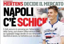 Se parte Mertens al Napoli arriva Schick- Napoli più