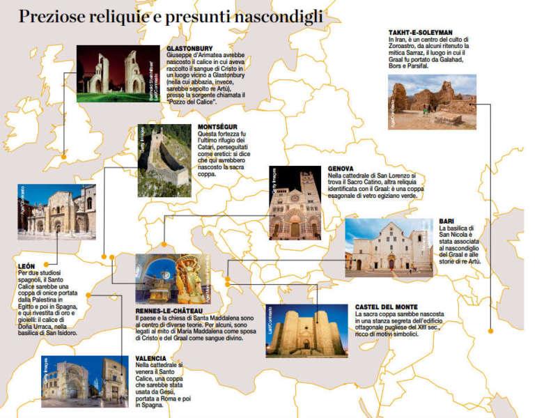 La ricerca del sacro Graal porta a Napoli, al Maschio Angioino.