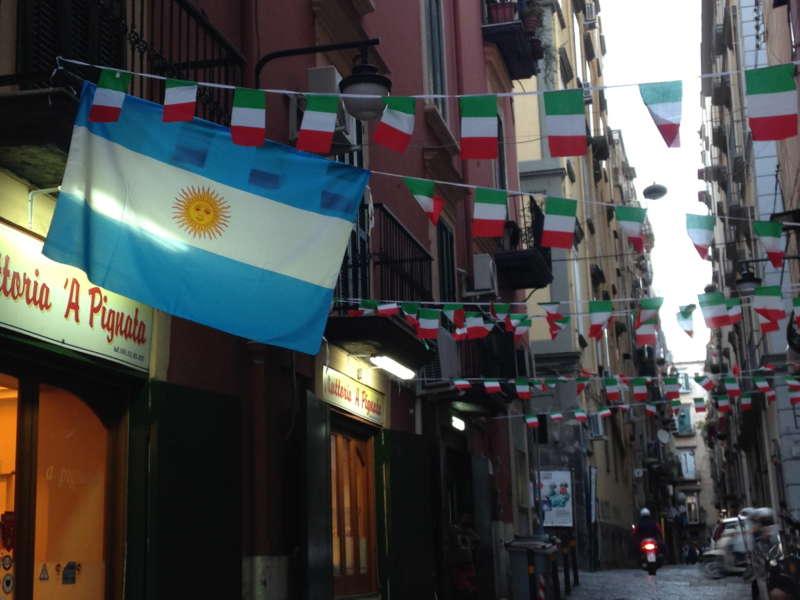l'Argentina tifa Juve