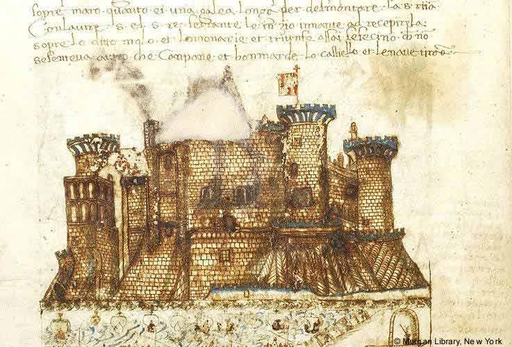 la torre del Beverello vine chiamata «dellu Maluguadagno».