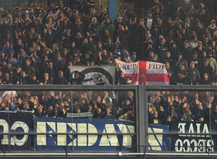 Napoli e Barcellona, un'amicizia aldilà della partita di stasera. I Fedayn della Curva B ed il Grup Fidel blaugrana