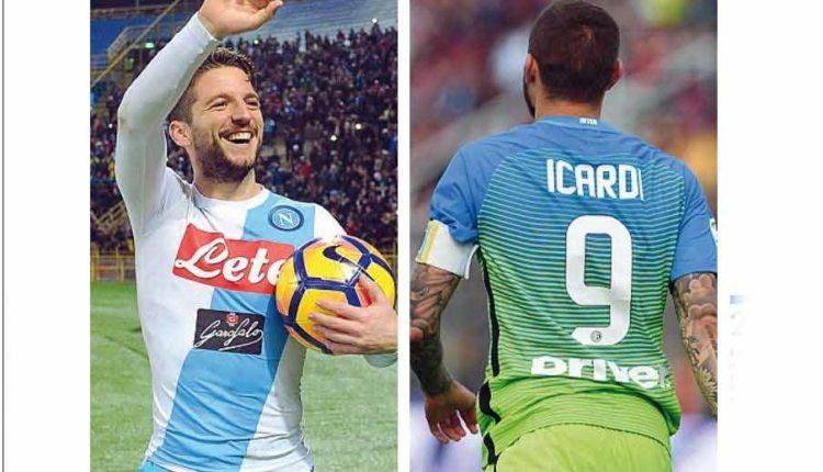 La rivincita di Mertens: Il Napoli voleva Icardi invece ha trovato Dries