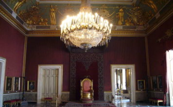 Napoli Palazzo reale torna il trono di Ferdinando II di Borbone