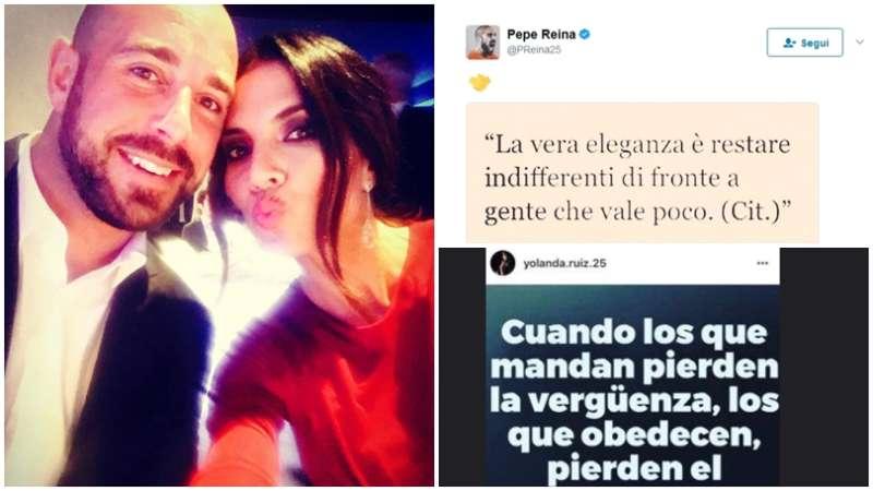 misterioso Tweet di Pepe Reina