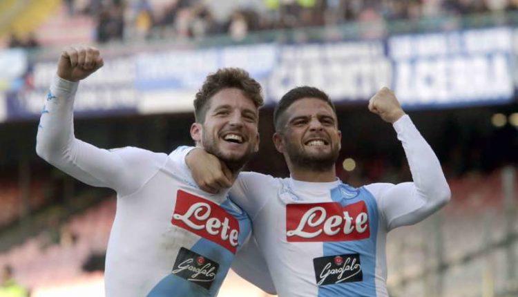 Dries Mertens e Lorenzo Insigne la coppia più bella di tutta la Serie A
