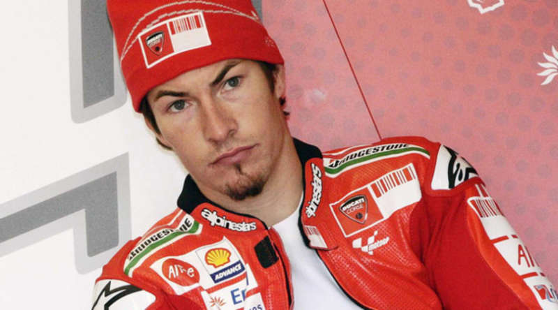 Motociclismo in lutto morto Nicky Hayden