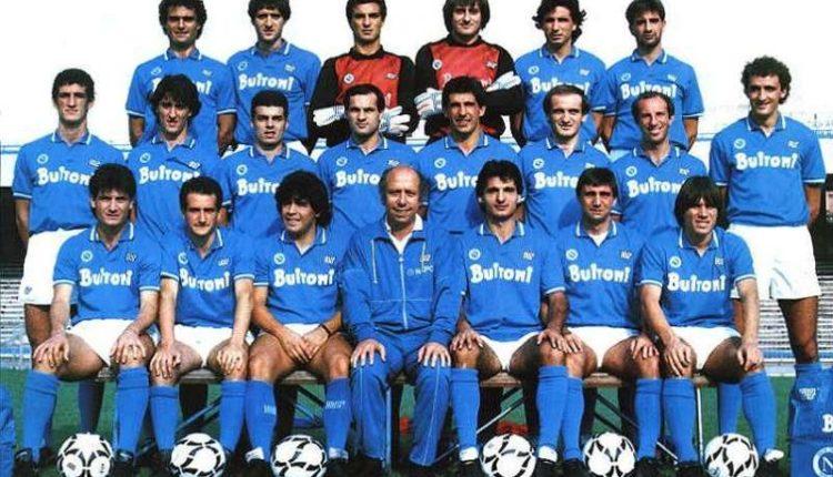 Maradona torna il campo con il Napoli. Diego giocherà con la numero 10