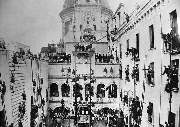I Primi Pompieri furono Napoletani. Corpo dei Pompieri civici di Napoli