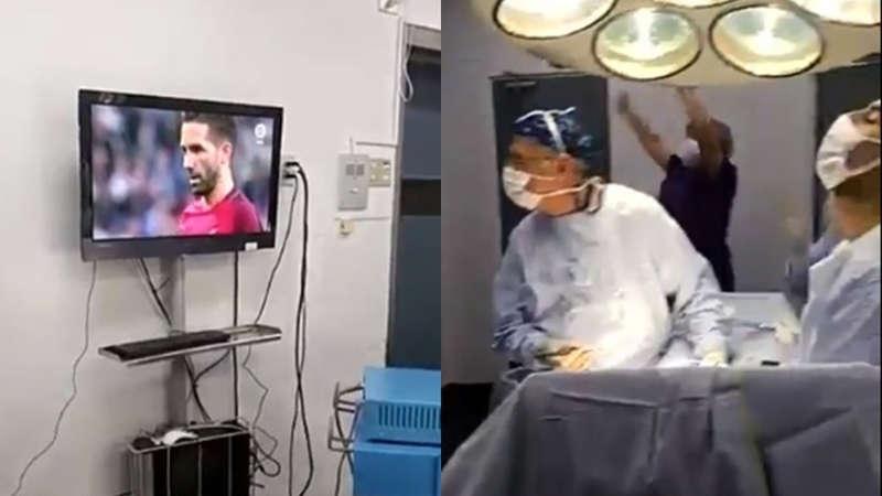 Assurdo medici cileni esultano mentre operano. I chirurgi si fanno in stallare un televisore in sala operatoria ed iniziano a tifare durante un intervento.