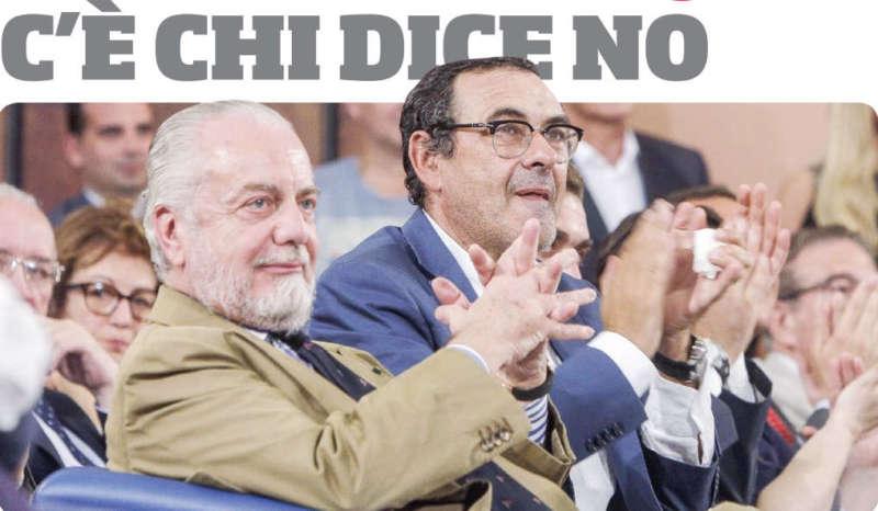 De Laurentiis dice no: Il presidente ha respinto tutte le offerte per i big.