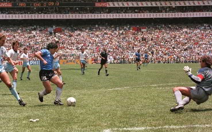 """Gol del secolo, Morales urla """"Grazie Dio per Maradona"""""""