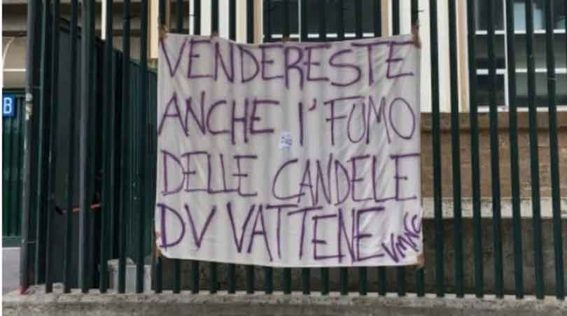 Firenze compaiono striscioni contro della valle
