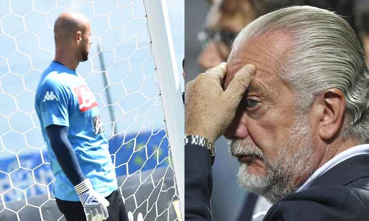 "Premium sport: Reina: ""me ne vado per colpa di De Laurentiis"""