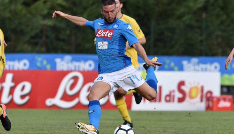 Napoli-Bassa Anaunia 17-0. Mertens lo scudetto? E' difficile.