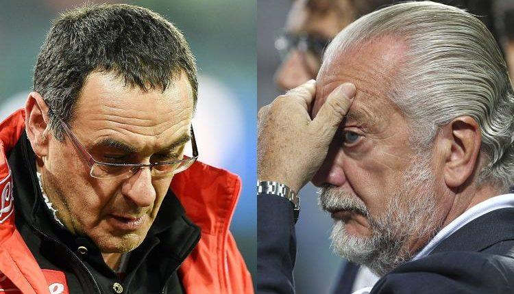 De Laurentiis vuole blindare Sarri. Ecco la nuova proposta per l'allenatore