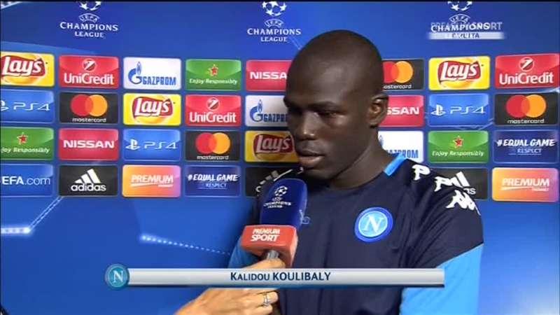 """Che grinta Koulibaly: """"Stella Rossa? a me non fa paura niente. Vogliamo andare avanti"""""""