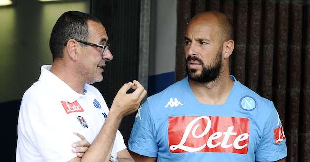De Laurentiis aspetta l'offerta del PSG per Reina. Sarri punta i piedi. Intanto per cautelarsi il l Napoli riprende i contatti con Rulli.