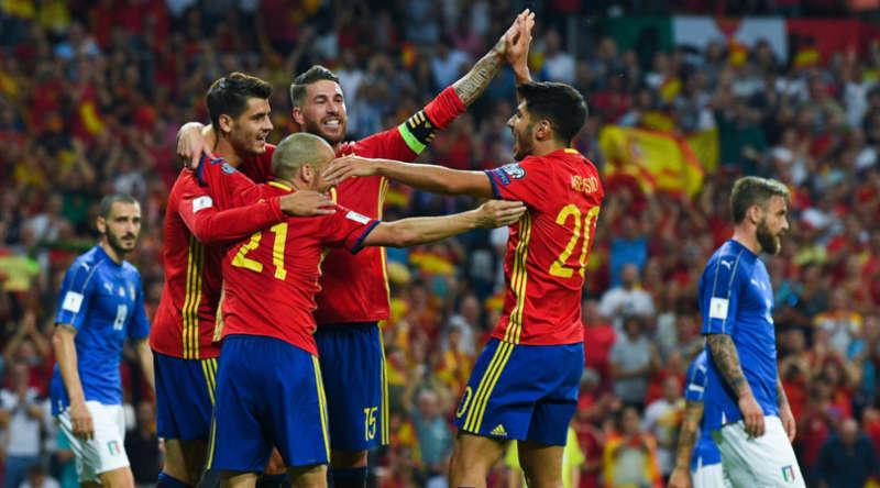 La Spagna travolge l'Italia 3-0. E ora l'incubo spareggio.  La gazzetta  cattivissima Insigne disonora la 10. Ventura cerca alibi.