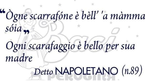Arrivano i baci perugina con frasi in napoletano. La special edition dei golosi cioccolatini parlerà anche 9 dialetti della penisola.