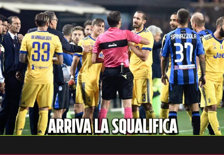 Arriva la squalifica per ingiurie e insulti al Var. Paratici multato e squalificato dopoi fatti di Atalanta- Juventus. Lo ha deciso il giudice sportivo.