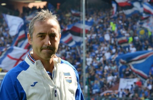 """""""la mia samp è un piccolo Napoli"""" Marco Gianpaolo esalta i blucerchiati e rivela un retroscena: """"sogno di allenare l'Inter""""."""
