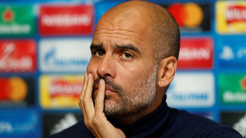 """Pep Guardiola in conferenza: """"Se parlo bene del Napoli è perché lo sento"""". il tecnico del City analizza la sfida con il Napoli."""
