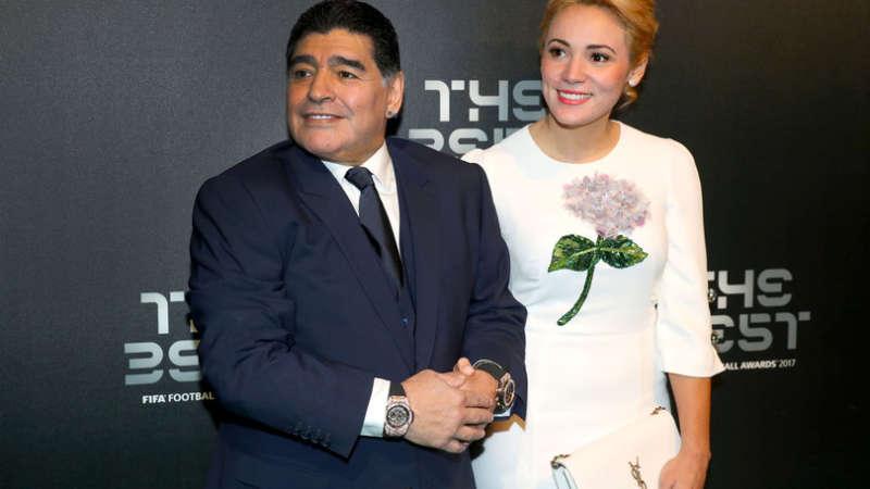 Fifa Football Awards, Maradona:«Può essere l'anno giusto per il Napoli ma temo la rosa corta, Sarri può arrivare in testa alla fine del campionato»