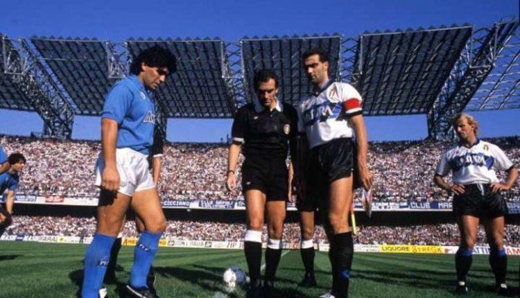 Napoli-Inter come 28 anni fa. Ventotto anni dopo lo stesso calendario. Ottava con la Roma, la nona con l'Inter, la decima con il Genoa.Ecco come finì.