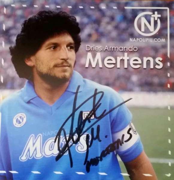 Napoli più a casa Mertens. Il campione azzurro espresse il desiderio di ricevere il nostro maramertens.