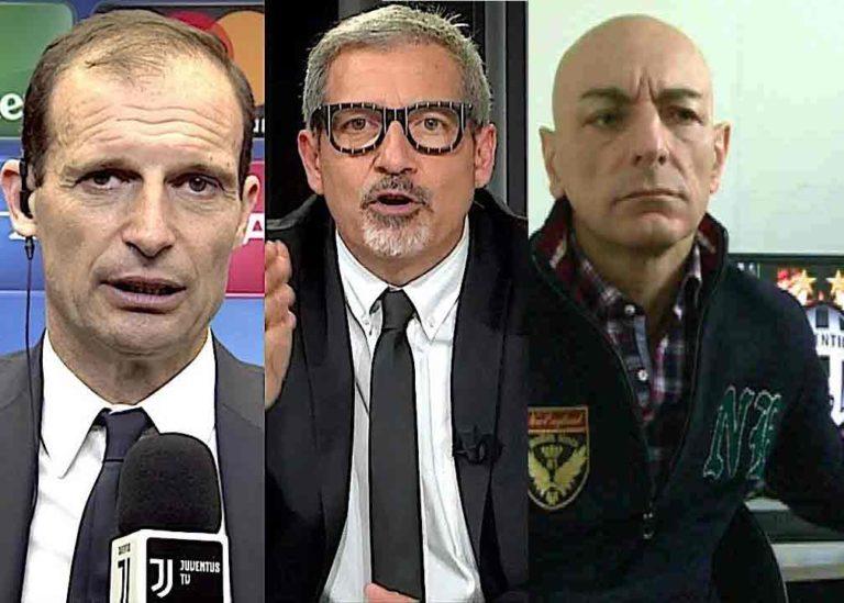 """La Juve e la fabbrica del """"falso"""", l'ultima è clamorosa. Sarri, c'è posta per te e per il Napoli. I bianconeri fanno pretattica da mocciosi."""