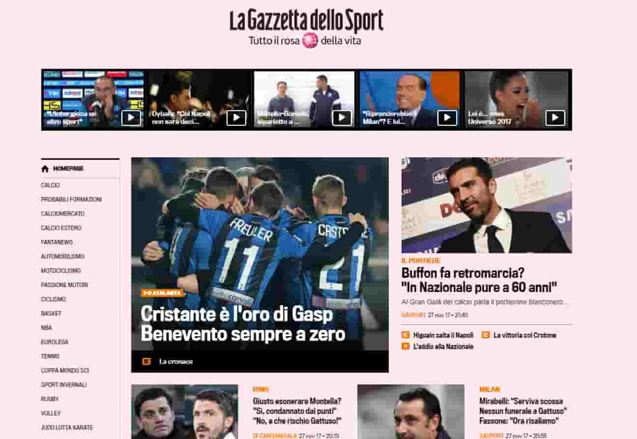 Gran Gala del Calcio, Sarri miglior allenatore. La gazzetta non lo celebra, mentre è palese delusione per Allegri nonostante i gli scudetti vinti.