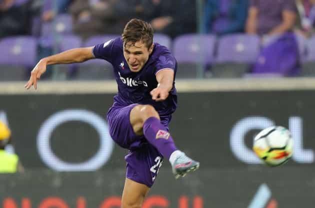 Il Napoli ha preso Federico Chiesa dalla Fiorentina. Lo rivela l'intermediario internazionale di calciomercato Ivan Reggiani