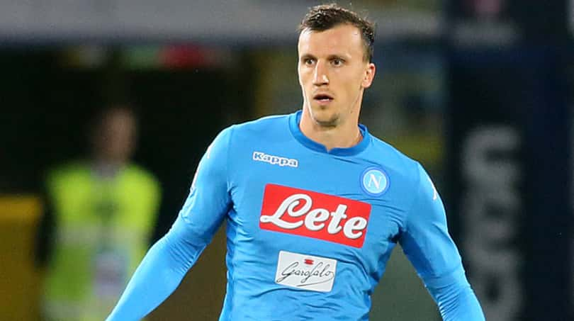 SKY Chiriches out. Il Napoli spera in Albiol, pronto Tonelli