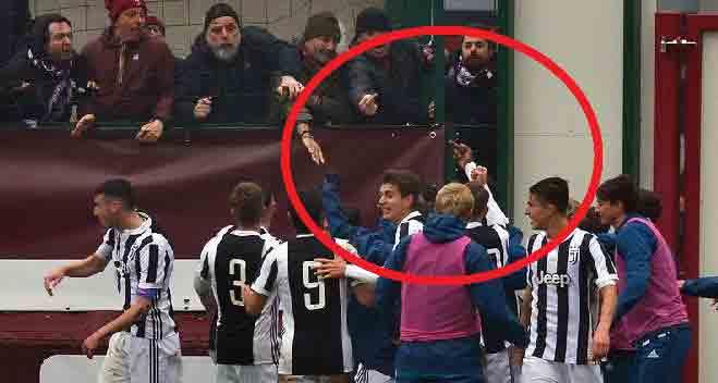 Torino-Juventus Primavera, gesto vergognoso di Leandro Fernandes verso i tifosi granata