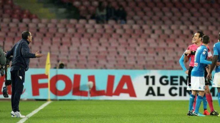 La moviola di Napoli-Lazio. L'ex arbitro Antonio Iannone conferma: c'era rigore su Mertens. Banti e i suoi assistenti sbagliano e graziano Wallace. Regolare il goal di Callejon. Errore anche su Nani.